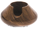 Teak  Pipe Rest - Click for details