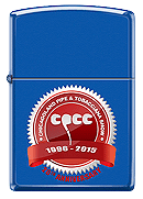 LE 2015 Pipe Show Zippo Blue - Click for details