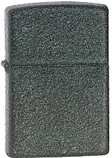 Black Crackle Zippo - Click for details