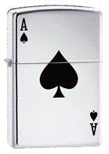 Lucky Ace Zippo - Click for details