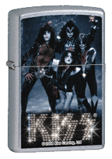 Kiss Zippo - Click for details