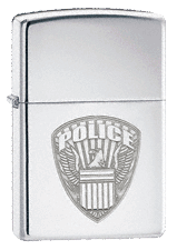 Police Zippo - Click for details