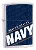 Navy Zippo - Click for details