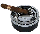 Push Top Cigar Ashtray - Click for details