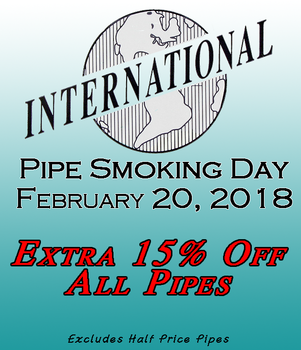 International Pipe Smoking Day February 20th 2018