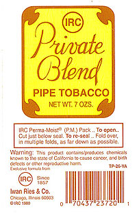 Private Blend - Click for details