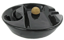 Ceramic Pipe & Cigar Ashtray - Click for details