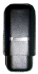 Comoy 2 Corona Case Black - Click for details