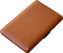 Brizard Fan Credit Card Holder Sunrise Tan - Click for details