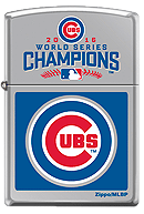 Chicago Cubs World Series Champions Zippo - Click for details
