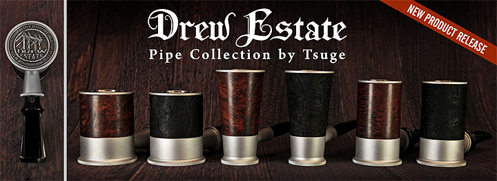 Drew Estate Pipes by Tsuge | Iwan Ries & Co.