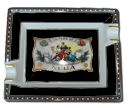 Elie Bleu Alba Black Cigar Ashtray - Click for details