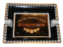 Elie Bleu Medals Black Cigar Ashtray - Click for details