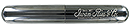 IRC Aluminum Single Cigar Tube Midnight Chrome - Click for details