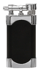 Kiribi Mikazuki Black Matte Pipe Lighter - Click for details