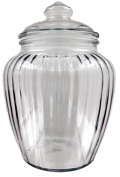 Large Glass Tobacco Jar - Click for details