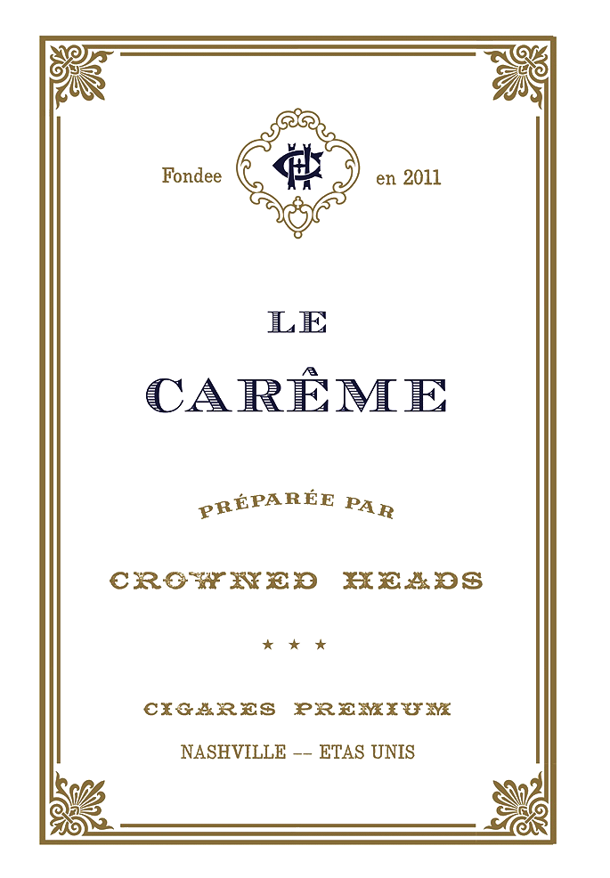 La Careme by Crowned Heads | Iwan Ries & Co.