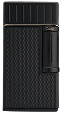Colibri Julius Cigar Lighter Black - Click for details