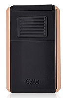 Colibri Astoria Cigar Lighter Black / Gold - Click for details
