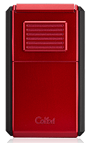 Colibri Astoria Cigar Lighter Red - Click for details