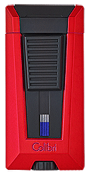 Colibri Stealth 3 Cigar Lighter Red - Click for details
