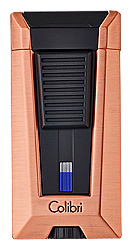 Colibri Stealth 3 Cigar Lighter Brushed Rose Gold - Click for details