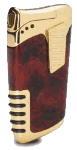Lotus Dual Lighter Burl - Click for details