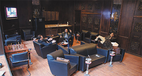 The Front Room | Chicago\'s Pipe, Cigar & Tobacco Store | Iwan Ries ...