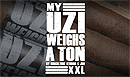 My Uzi Weighs A Ton 60 x 7 Box of 10 - Click for details