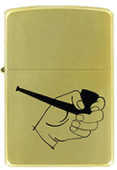 Pipe in Hand Pipe Lighter Zippo - Click for details