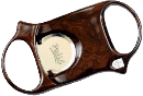Palio Burlwood Cigar Cutter - Click for details