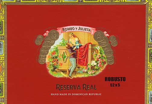 Romeo y Julieta Reserva Real #2 - Click for details