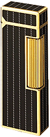 Dunhill Blue Lacquer & Gold Plated Rollagas Lighter - Click for details
