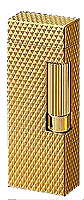 Dunhill Gold Plated with Diamond Pattern Rollagas  - Click for details