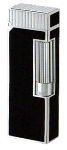 Dunhill Black Lacquer & Palladium Rollagas - Click for details