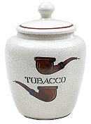 Savinelli Large Antique Ceramic Tobacco Jar - Click for details