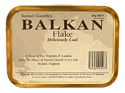 Samuel Gawith Balkan Flake 50g. - Click for details