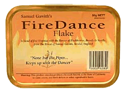 Samuel Gawith Firedance Flake 50g - Click for details