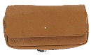 Dunhill's White Spot Terracotta 1 Pipe Combo Flap Pouch - Click for details