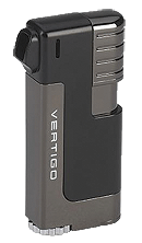 Vertigo Governor Black / Gun Metal Pipe Lighter - Click for details