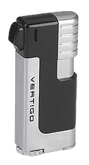 Vertigo Governor Black / Silver Pipe Lighter - Click for details