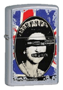 God Save The Queen Zippo - Click for details