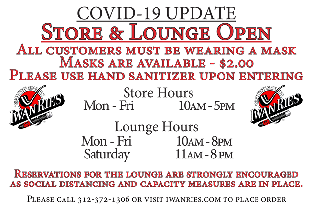 Store Opening and Lounge Opening and Curbside Available