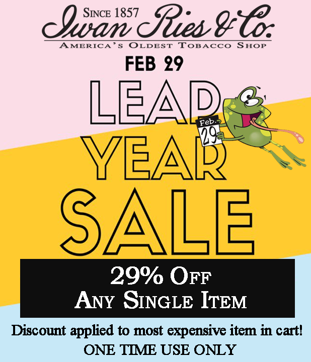 Leap Year Sale 29 Percent Off Most Expensive Item in Cart One Time Use Only